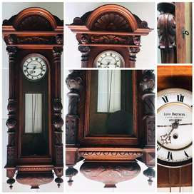 Wall Hanging Antique Grandfather Clock