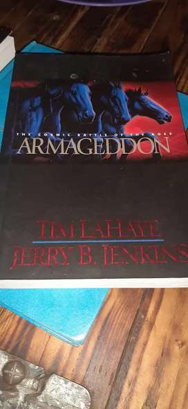 Armageddon by J.B.Jenkins and T. LaHaye.Part of left behind series.