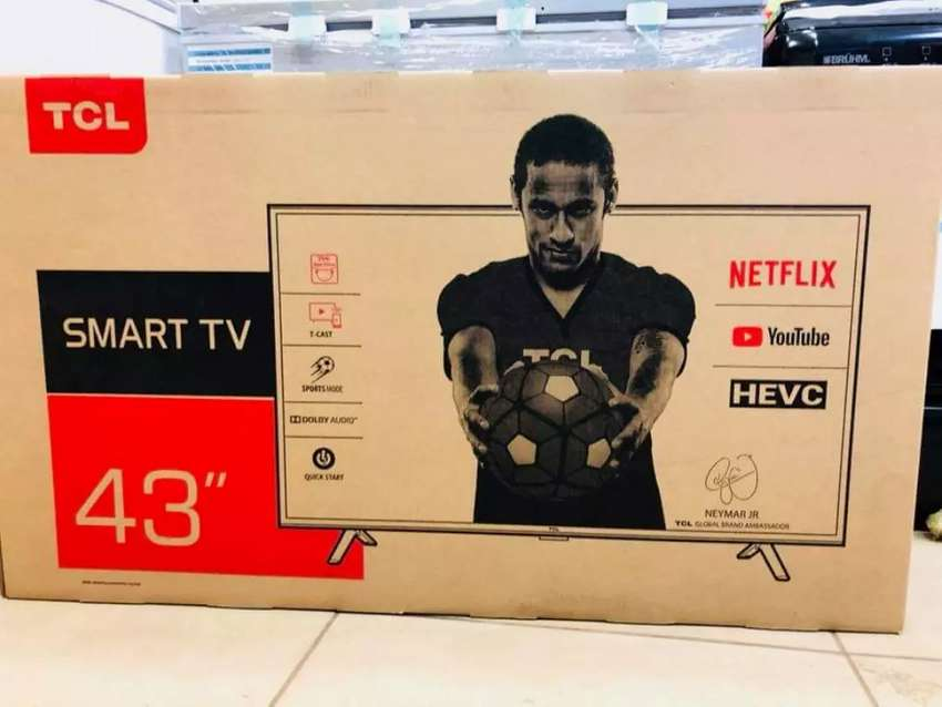 "TCL 43""inch smart and digital TV 0"