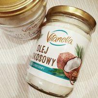 Кокосовое масло пищевое, косметическое Vitanella olej kokosowy