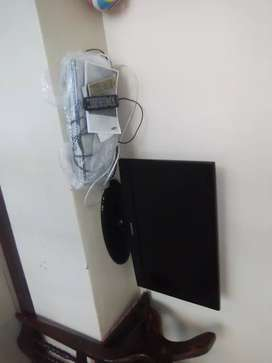 32 inch LCD TV and DVD player