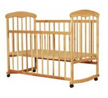 Детская кроватка (с матрасом, защиткой, постельное белье 3 комплекта,