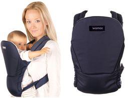 Nowe nosidełko dla niemowląt WOMAR globetrotter N7, 2 pozycje