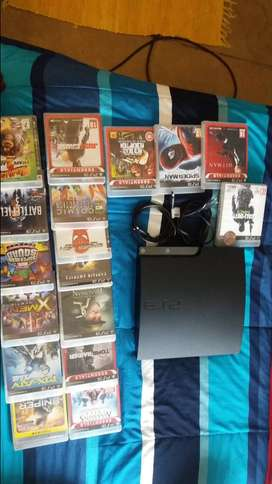 Ps 3 for sale with games