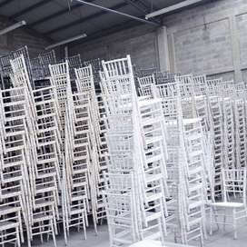 SET OF TIFFANY CHAIRS