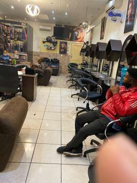 Rent in a salon in Randburg