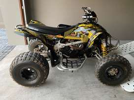 Can-am DS450 + Bike trailer