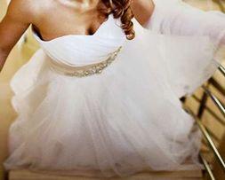 suknia ślubna michał zień M 38