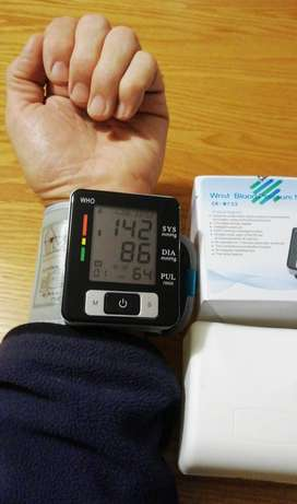 BMC Blood Pressure Monitors, PPE and breathing support
