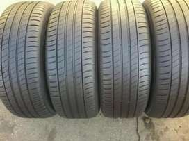 4 × 205/55/16 Michelin tyres for sale