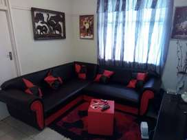 Bachelor flat, neat and clean with shower, kitchen, lounge