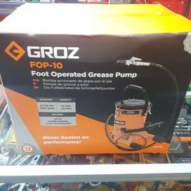 Groz 10Kg Foot Operated Grease Pump for Sale