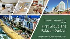 The Palace Durban 1st - 8th October