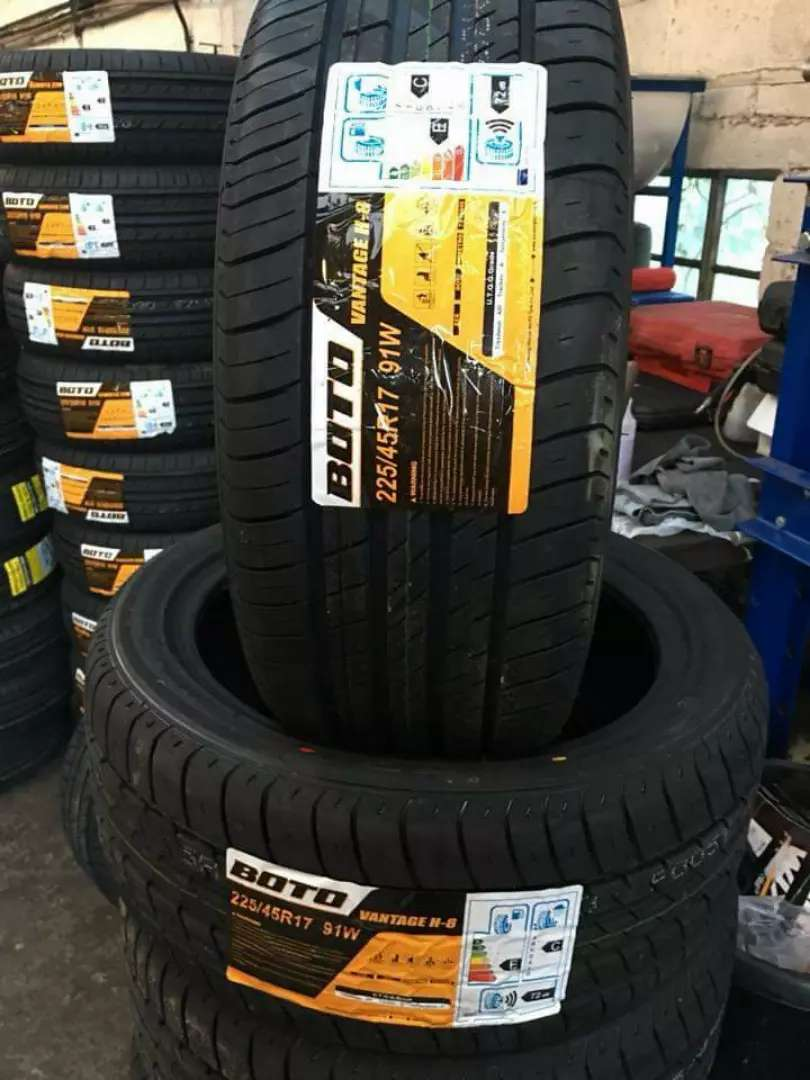 205/55/16 Boto tyres is made in China 0