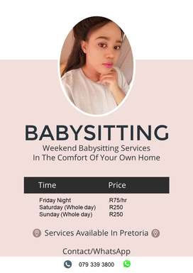 Weekend Baby Sitting Services