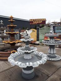 Садовый бетонный фонтан для дома от производителя