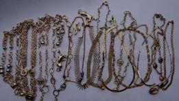 ŁAŃCUSZEK ZŁOTY damski złoto duży wybór wrocław skup najlepsze ceny!!!