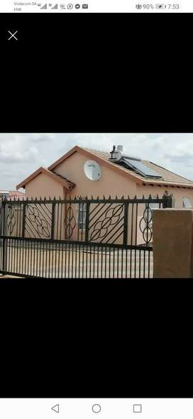 Two bedrooms House to Rent in Southern Gateway