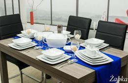 Serwis porcelanowy obiadowy 41 części / 12 osób Lubiana Victoria NOWY