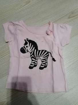 Girls baby 12x Summer t-shirts clothes 6-18 months