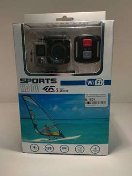 4K Ultra HD Sports Action Camera with Wireless Remote