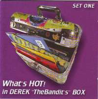 "Image of What's Hot In Derek ""The Bandit's Box""- Set one (CD)"