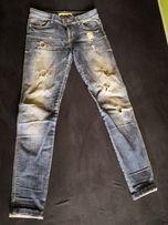 Spodnie jeansy dżinsy Bershka 36