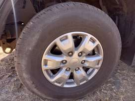 4 ranger mags and tyres 70%live left on tyres