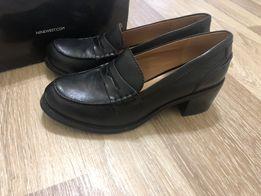 Женские Nine West кожа ботинки туфли