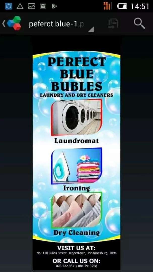 We do laundry we collect and deliver for free