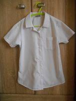 Белая рубашка Next на девочку 8 лет