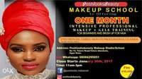 Get Empowered at our Makeup school Abeokuta. 0