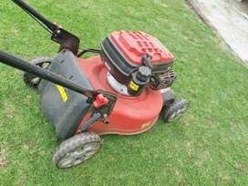 Ryobi Lawn mower and Industrial Edge trimmer for sale