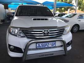 Toyota Fortuner 3.0D4D Limited Edition auto 4x4