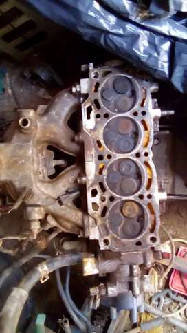 Selling Toyota conquest 1.3 cylinder head complete
