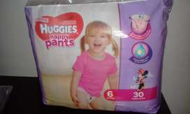 Huggies pull up pants size 6