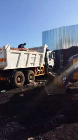 SITE CLEARANCE  AND RUBBLE REMOVAL