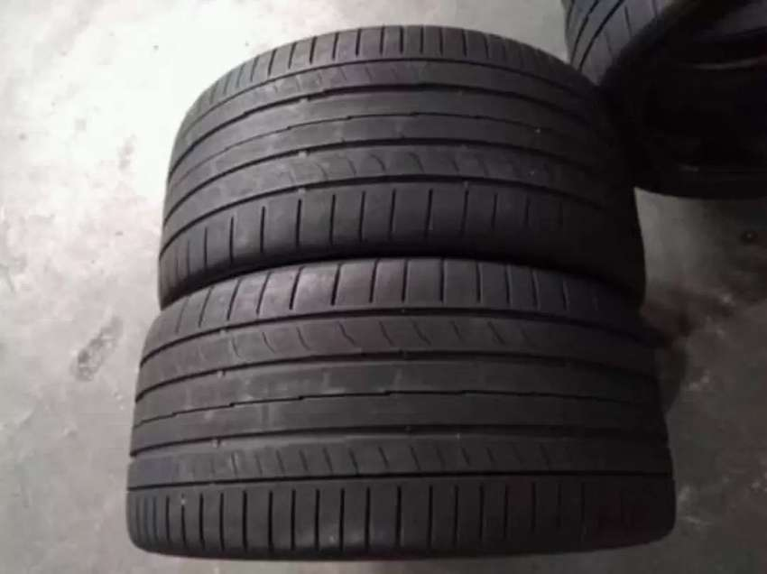 2 × 255 / 35 / 18 continental tyres for sale
