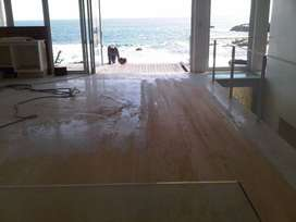 Dustless floor sanding and sealing