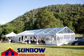 Clear Frame Tents For Sale - Sunbow Tents Manufacture