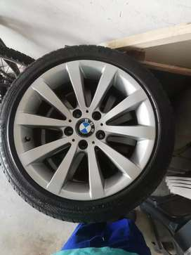 Bmw E90 rims and tyres