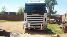 Scania R420 with hydraulics system