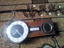 Барометр+годинник+термометр