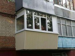Балконы под ключ,крыша на балкон,наружная и внутренняя отделка балкона