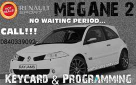 Renault Megane and Scenic 2 keycards
