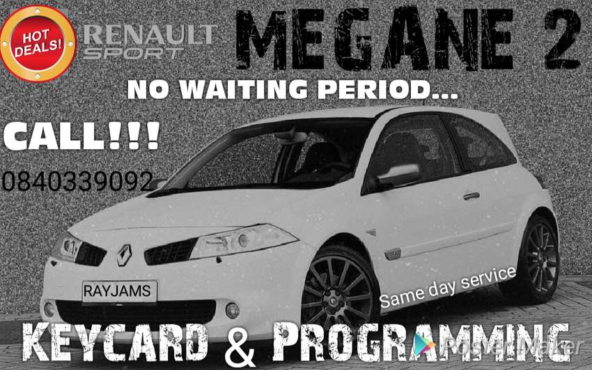 Renault Megane and Scenic 2 keycards 0