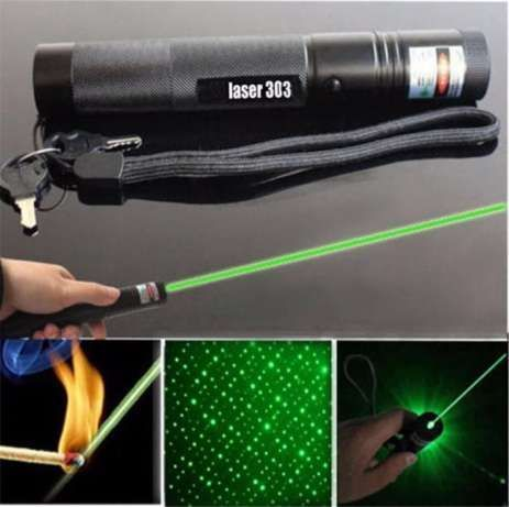 Лазерная указка зелёный лазер Laser 303 green с насадкой Одесса - изображение 2