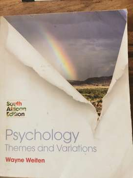 Psychology Themes and Variations South African Edition