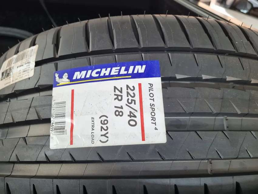 18 inch Michelin tires