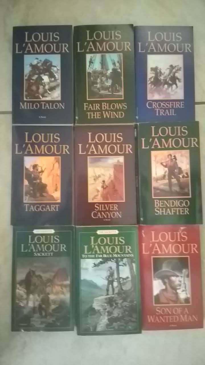 Louis L'Amour and other books 0